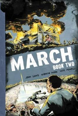 March: Book Two (March Gn) by John Lewis (2015-01-20)