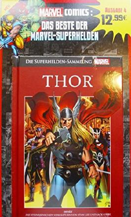 Die Marvel Superhelden Sammlung Ausgabe 4: Thor - Die Steinmenschen vom Saturn