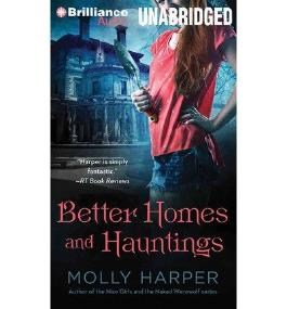 BY Harper, Molly ( Author ) [ BETTER HOMES AND HAUNTINGS ] Oct-2014 [ MP3 CD ]