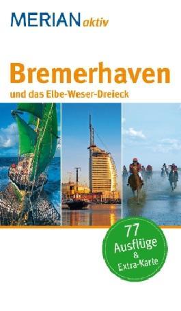 Bremerhaven mit Weser- und Elbemündung