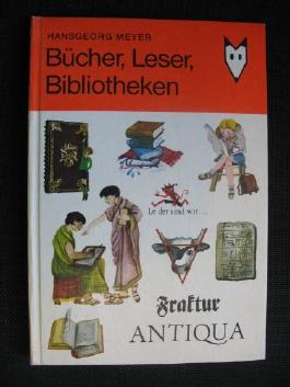 Bücher, Leser, Bibliotheken.