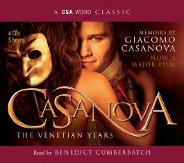Casanova: The Venetian Years - The Memoirs Of Giacomo Casanova (CSA Word Classic)