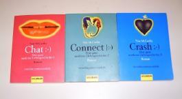Chat / Connect / Crash. (3 Taschenbücher)