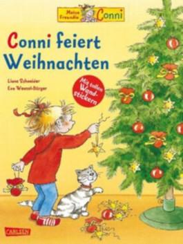 Conni feiert Weihnachten - mit 2 Conni-Wandstickerbögen