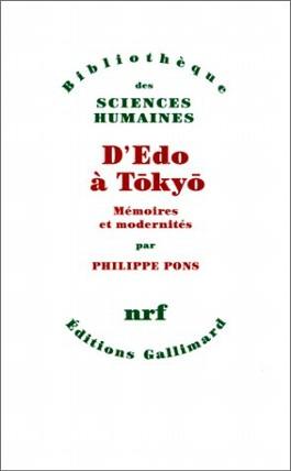 D'Edo à Tokyo. Mémoires et modernités