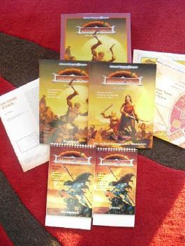 Dark Sun - Unter der Dunklen Sonne - Advanced Dungeons and Dragons (AD&D) Rollenspiel Box