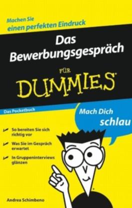 Das Bewerbungsgespräch für Dummies