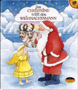 Das Christkind trifft den Weihnachtsmann
