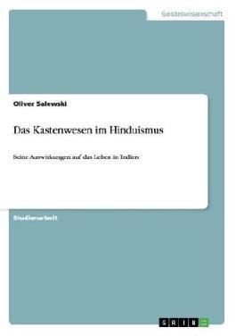 Das Kastenwesen im Hinduismus