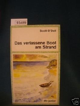 Das verlassene Boot am Strand