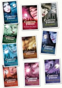 Der Bund der Schattengänger, Band 1,2,3,4,5,6,7,8,9,10 von Christine Feehan (Der Bund der Schattengänger)