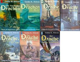Der Drachenritter Zyklus (Die Nacht der Drachen - Der Drachenritter - Der Drache an der Grenze - Der Drache im Krieg - Der Drache, der Graf und der Troll - Der Drache und der Dschinn - Der Drache und der Wurzelkönig)