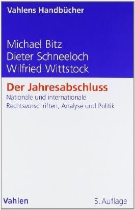 Der Jahresabschluss von Bitz, Michael (2011) Gebundene Ausgabe