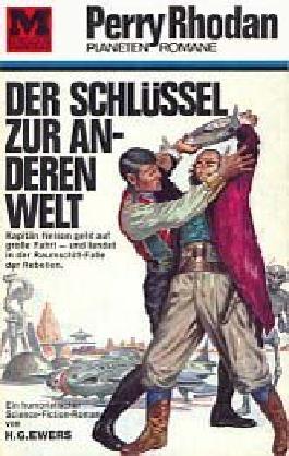 Der Schlüssel zur anderen Welt, Perry Rhodan Planetenromane 1. Auflage Bd. 30.