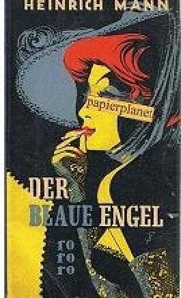 Der blaue Engel 1951 , rororo Taschenbuch mit Leinenrücken 55