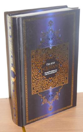 Der edle Qur'an: Die ungefähre Bedeutung in der deutschen Sprache. Der Koran in deutscher Sprache mit Anmerkungen und Register. Aus dem Arabischen von Abu-r-Rida Muhammad ibn Ahmad ibn Rassoul