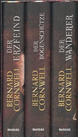 Die Bücher vom Heiligen Gral 3 Bände im Schuber - Der Bogenschütze - Der Wanderer - Der Erzfeind