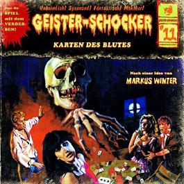 Die Karten des Blutes (Geister-Schocker 11)