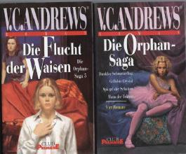 Die Orphan-Saga (alle 5 Romane: Dunkler Schmetterling - Geliebte Crystal - Spiegel der Schatten - Haus der Tränen - Die Flucht der Waisen!)