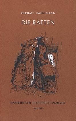 Die Ratten von Hauptmann, Gerhart (2012) Broschiert