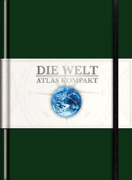 KUNTH Taschenatlas Die Welt - Atlas kompakt, grün