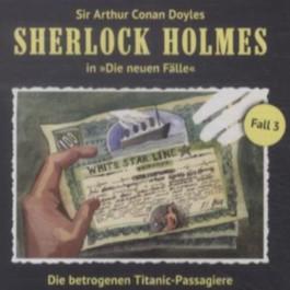 Die betrogenen Titanic-Passagiere, Audio-CD