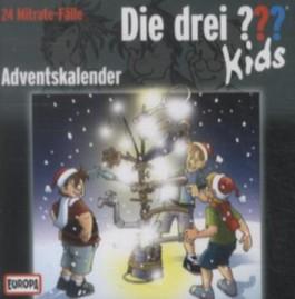 Die drei Fragezeichen-Kids - Adventskalender, 2 Audio-CDs