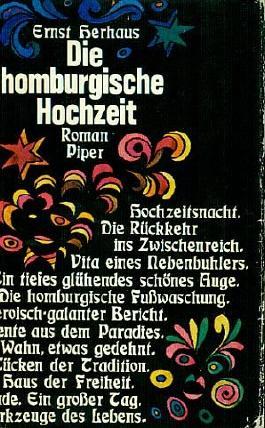 Die homburgische Hochzeit - Roman - 4.-5. Tausend
