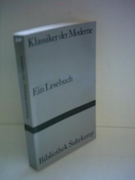 Div. Autoren: Klassiker der Moderne - Ein Lesebuch
