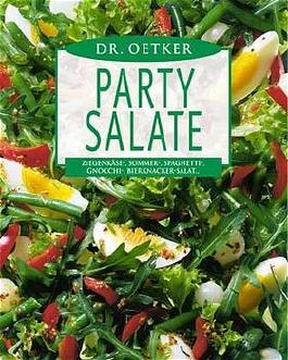 Dr.Oetker Buch Party Salate