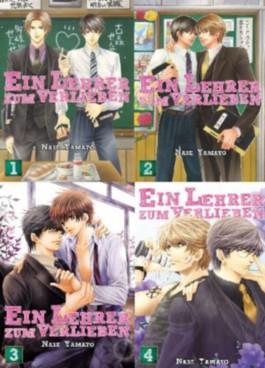 Ein Lehrer zum Verlieben - Manga-Set 1-4 - Komplett