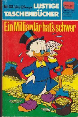 Ein Milliardär hat's schwer - Lustige Taschenbücher Heft 33/1981
