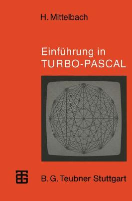 Einführung in TURBO PASCAL
