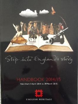 English Heritage Handbook 2014 /15