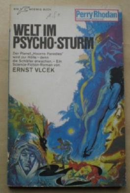 Ernst Vlcek: Welt im Psycho-Sturm [Perry-Rhodan Planeten-Romane]