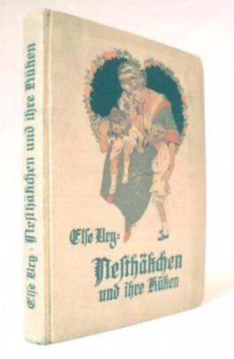Erzählung für junge Mädchen, Band 7: Nesthäkchen und ihre Küken. Illustriert von R. Sedlacek.