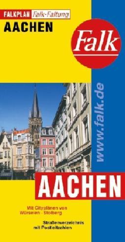 Falk Stadtplan Falkfaltung Aachen