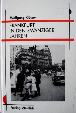 Frankfurt in den zwanziger Jahren