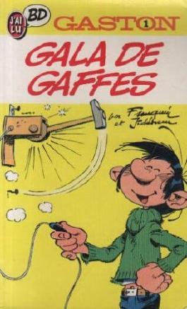 GASTON N°1 . GALA DE GAFFES A GOGO