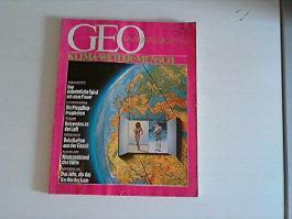 GEO Wissen: Klima-Wetter-Mensch: Ausgabe Nr. 2, 30.11.1987