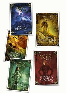 Garth Nix, Die Schlüssel zum Königreich, 5 Bände