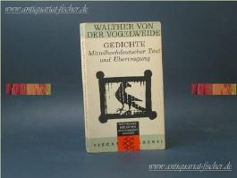 Gedichte - Mittelhochdeutscher text und Übertragung