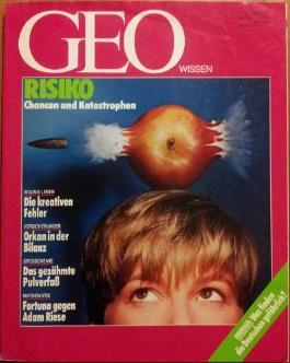 Geo Wissen Nr. 1- 1992: Risiko. Chancen und Katastrophen.