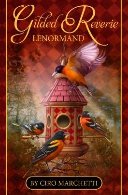 Gilded Reverie Lenormand: Kartendeck