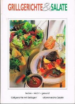 Grillgerichte und Salate