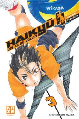 Haikyu !! - Les as du volley ball Vol.3