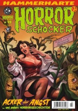 Hammerharte HORROR SCHOCKER Comic # 22 - Acker der Angst (Horror)