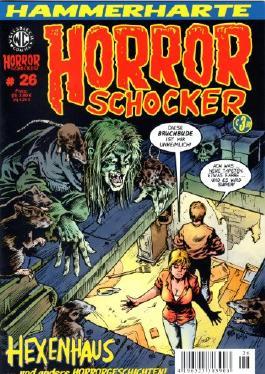 Hammerharte HORROR SCHOCKER Comic # 26 - Hexenhaus (Horror)