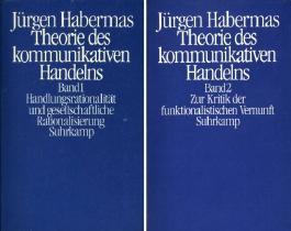 Handlungsrationalität und gesellschaftliche Rationalisierung, Band 1: Zur Kritik der funktionalistischen Vernunft / Band 2 (Theorie des kommunikativen Handelns. 2 Bände)