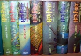 Harry Potter Sammlung Band 1-7 Gebundene Ausgabe
